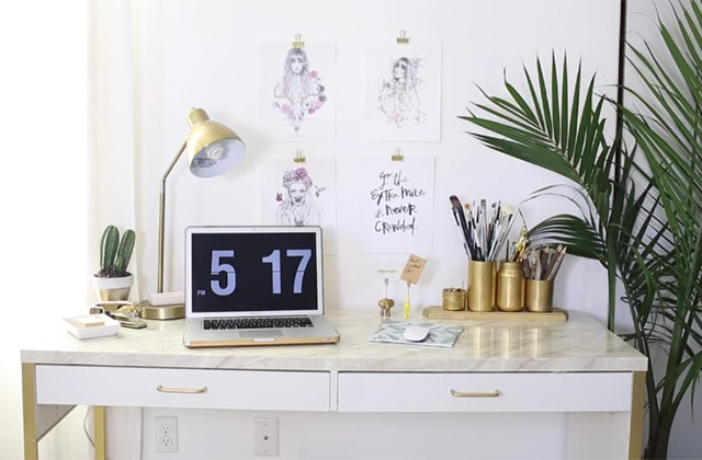 S lection de diy d co pour un bureau digne de pinterest - Diy deco bureau ...