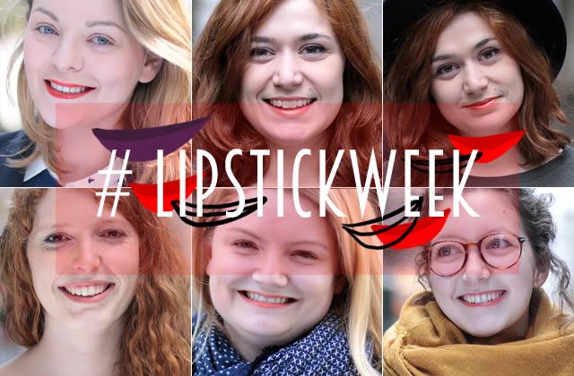 Sélection de rouges à lèvres orangés #LipstickWeek