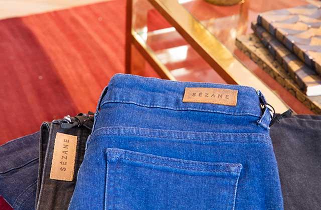 Sézane organise une collecte de jeans usés avec Le Relais!
