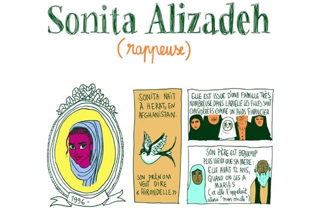 Sonita, petite fille afghane devenue rappeuse—Les Culottées, par Pénélope Bagieu