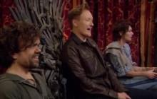 Tyrion et Cersei jouent à « Overwatch » chez Conan O'Brien!