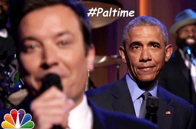 Barack Obama « Slow Jams the News » chez Jimmy Fallon