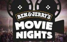 Les Movie Nights Ben & Jerry's mêlent (gratuitement) glaces et cinéma en plein air!