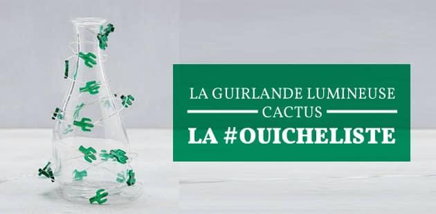 La guirlande lumineuse cactus — La #Ouicheliste