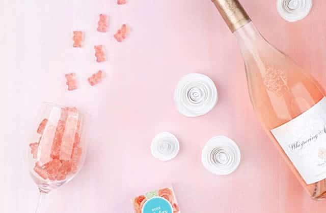 Les bonbons au rosé, parce que l'âge adulte est une arnaque