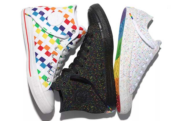 Les Converse multicolores de la «Pride Collection» édition 2016