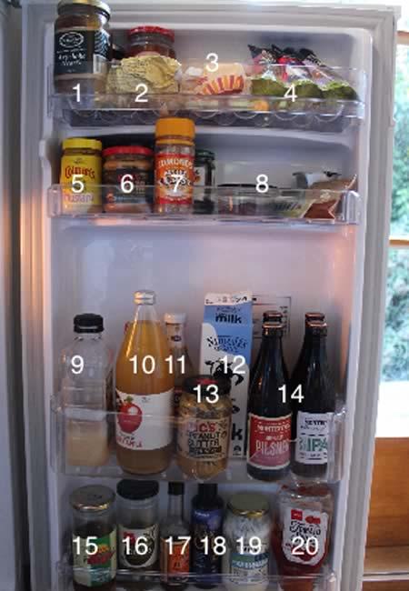 dans le frigo de nouvelle zelande boisson