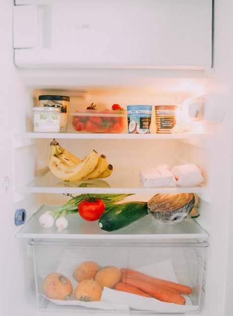 dans le frigo miam