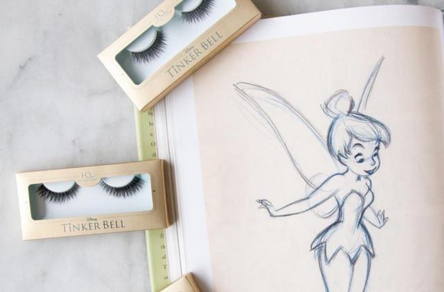 Des faux-cils inspirés par la Fée Clochette, l'envie beauté du jour!