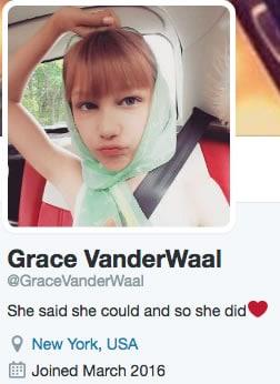 Grace VanderWaal Twitter