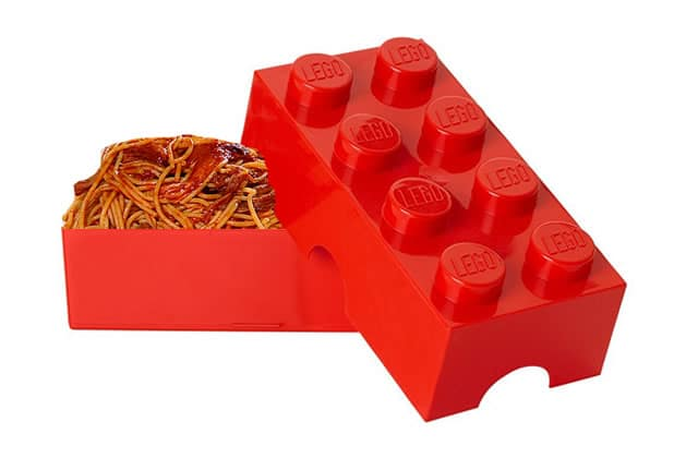 La lunch box LEGO — La #OuicheListe