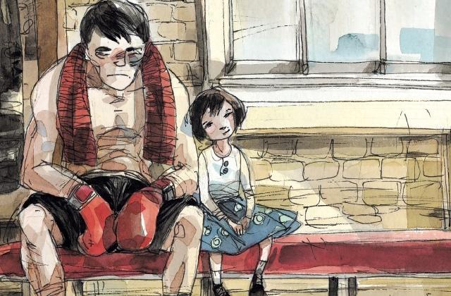 «Mon père était boxeur», une bande dessinée touchante sur un père et sa fille