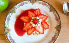 Les sablés étoiles fraises/basilic—La recette estivale de Charlotte