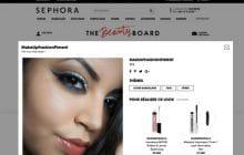 Sephora lance The Beauty Board, un réseau social 100% beauté