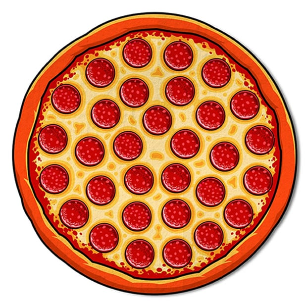 serviette-plage-pizza-amazon