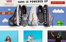 La collection Nintendo par Vans est enfin disponible !