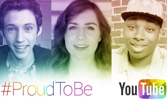 YouTube lance son hashtag #ProudToBe pour célébrer le mois des Fiertés