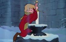 merlin l'enchanteur arthur sort l'épée