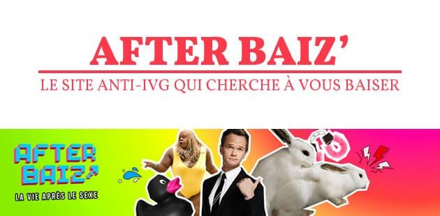 AfterBaiz, le site anti-IVG déguisé qui cherche à vous baiser