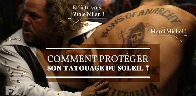 Comment protéger son tatouage du soleil ?