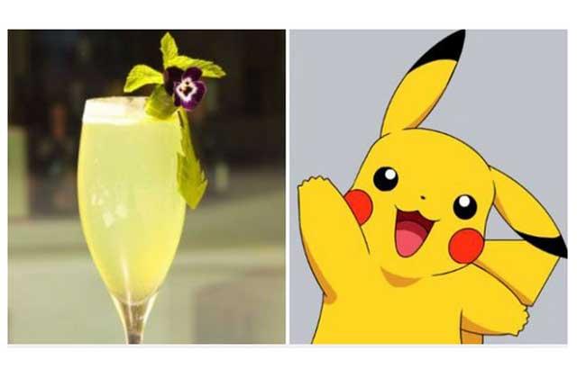 Les cocktails inspirés de Pokémon Go, la nouvelle trouvaille d'un bar londonien