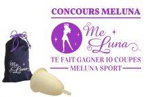MeLuna te fait gagner dix de ses coupes menstruelles «sport»!