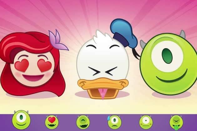 des emojis disney et pixar