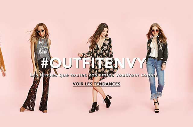Forever 21 sort «Outfit Envy», sa nouvelle collection fort stylée