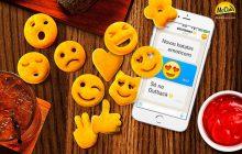 Les frites en forme d'emojis, une nouveauté signée McCain