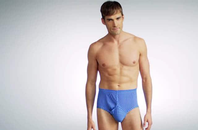 L'histoire des sous-vêtements masculins en vidéo, avec «100 Years of Men's Underwear»