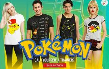 Hot Topic a sorti une collection Pokémon !