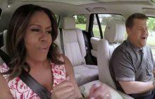 Michelle Obama s'éclate dans la voiture de James Corden pour un karaoké endiablé