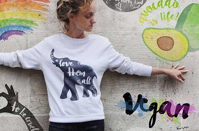Paris by Vegan sort une collection de t-shirts imprimés!