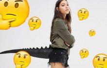 L'accessoire queue de dinosaure d'Asos—WTF Mode