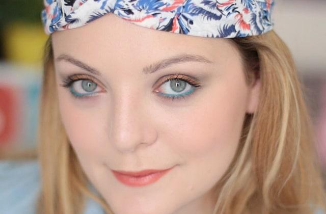 Tuto beauté vidéo—Look d'été frais et coloré avec Bourjois