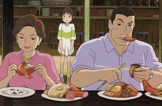 Pourquoi les parents de Chihiro se sont-ils transformés en cochons?
