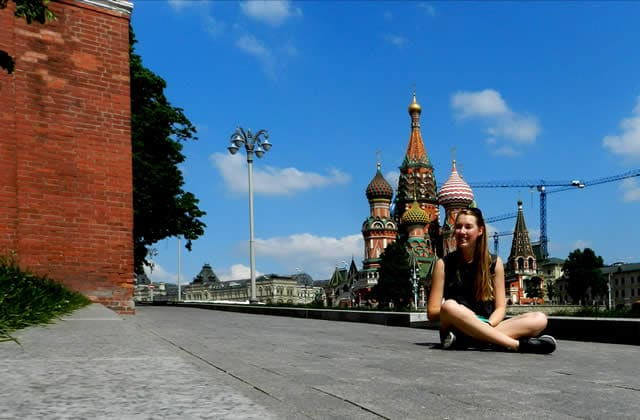 Mon voyage en Transsibérien—Carte postale de Russie