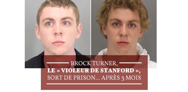 Brock Turner, le « violeur de Stanford», sort de prison… après 3 mois