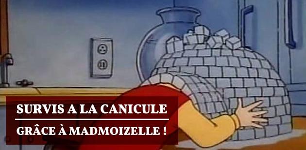 Survis à la canicule grâce à madmoiZelle!
