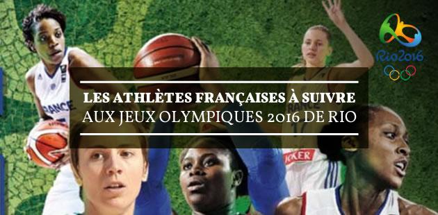 Les athlètes françaises à suivre aux Jeux Olympiques 2016 de Rio