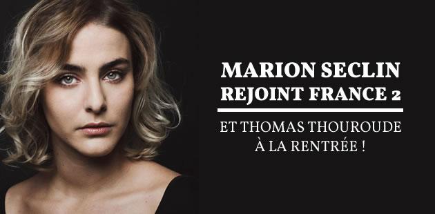La première chronique de Marion Seclin chez France 2 est en replay !♥