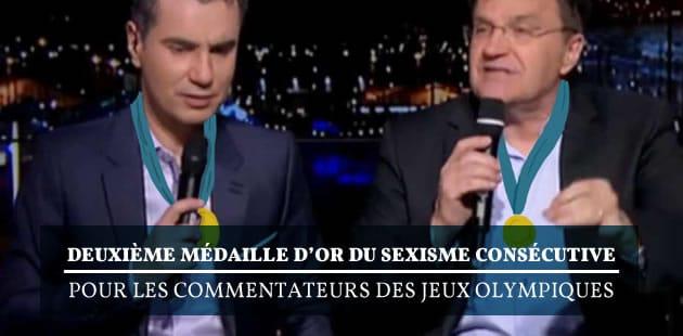 Deuxième médaille d'or du sexisme consécutive pour les commentateurs des Jeux Olympiques