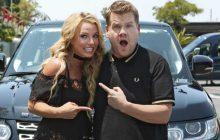 Britney Spears reprend ses plus grands tubes dans son «carpool karaoke»!