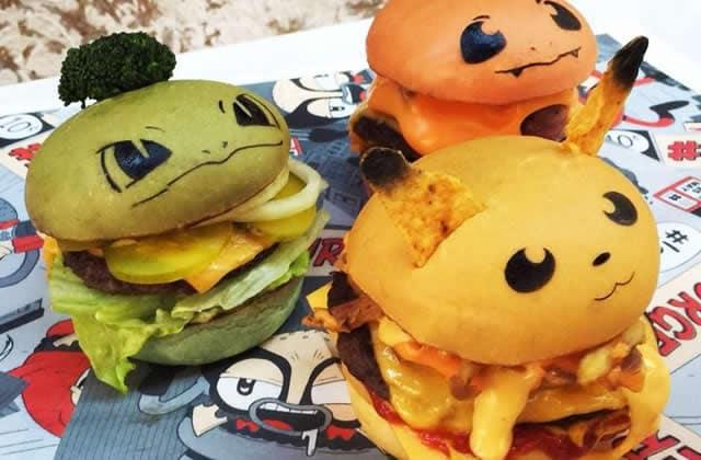 Les burgers Pokémon existent, car le monde est formidable