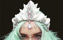 De magnifiques couronnes de coquillages, pour te prendre pour une sirène
