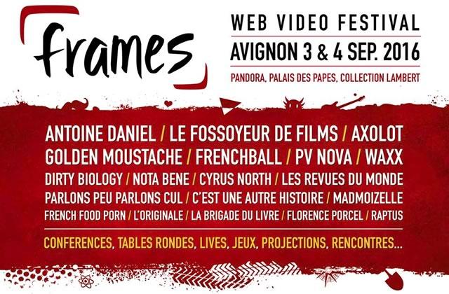 Concours — 2 pass week-end à gagner pour le Frames Festival, à Avignon le 3 et 4 septembre!