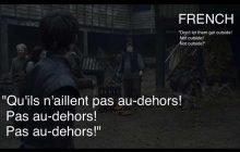Hodor dans «Game of Thrones», ça donne quoi dans les autres langues? (GROS SPOILER)