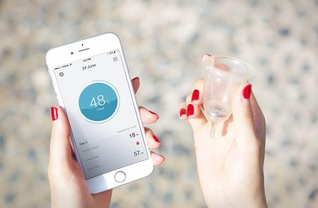 Looncup, la coupe menstruelle du futur qui analyse la santé de ta schnek