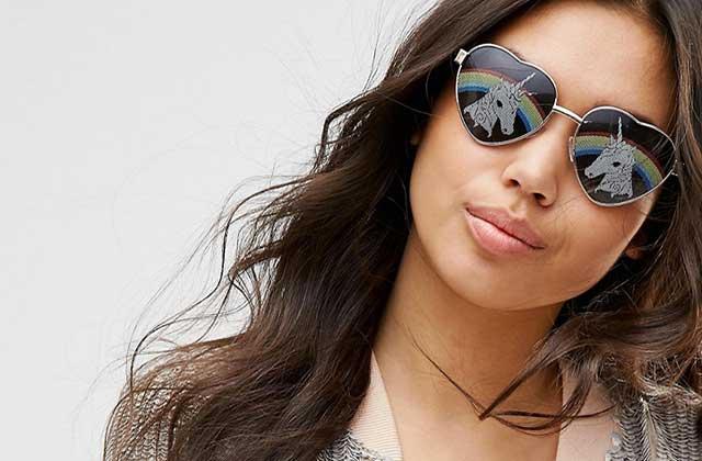 Sélection de lunettes de soleil rigolotes