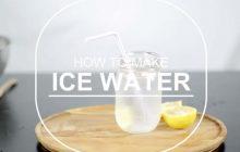 Comment faire de l'eau ? La recette facile!